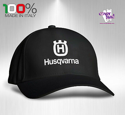 Cappello Berretto Hat Cappellino Houston 5 pannelli NERO - HUSQVARNA