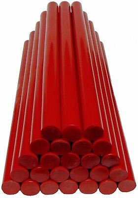 Ausbeul Heisskleber ROT 500 Gramm 25 Sticks 200x11,3mm ALL WEATHER weich & zäh