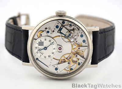 Breguet Tradition Manual Wind Power Reserve Skeleton 7027bb/11/9v6  $27,400