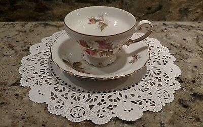 1 Vintage Ohata China Tea Cup & Saucer Made In  Occupied Japan