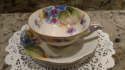 1 Vintage Ocagco China Tea Cup & Saucer Made In  Occupied Japan