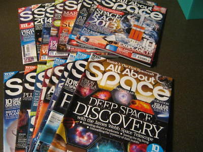 All About Space Magazine-Collect From Norwich.