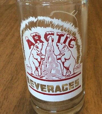 NICE Arctic Beverages ACL Soda Pop Bottle 10 oz Keen Bottling, Conroe Texas 1948