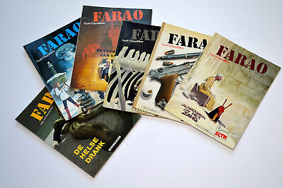 comics,farao,1 t/m 6 1ste druk mint-, plus jeremy brood