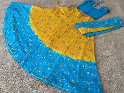 Indian Chaniya choli LEHENGA Lengha Ghagra Kuchi garba navratri