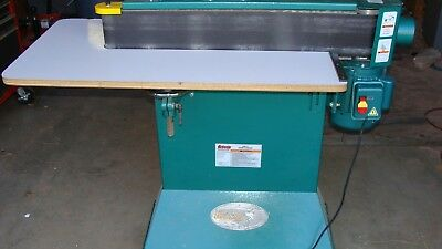 G0512 Grizzly Edge Sander with Wrap-Around Table