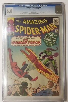 Amazing Spider-Man #17 CGC 6.0 White Pages