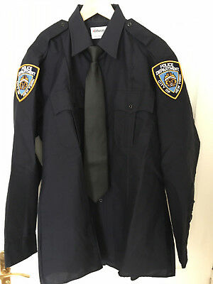 Chemise police US NYPD Elbeco L/XL