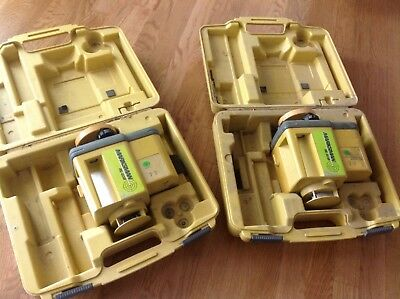 TOPCON RL-60B Laser Level System (MISSING REMOTE) Sold As Is,auction for 1 only