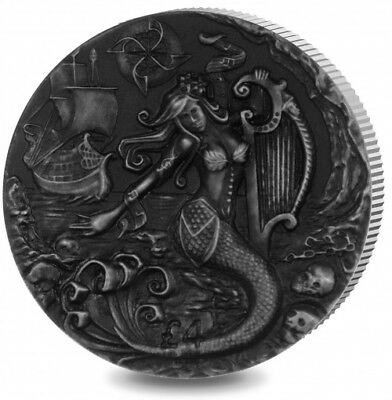 British Indian Ocean Territory, Famous Mythical Creatures–The Siren Silver Proof