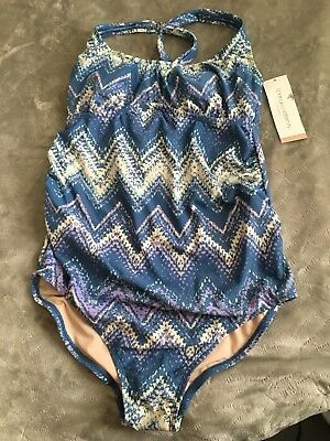 Liz Lange Maternity Bathing Suit Size S NWT