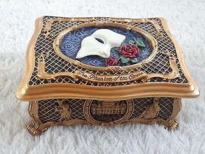 Phantom Of The Opera San Francisco Music Box Co Jewelry Musical All I Ask Of You