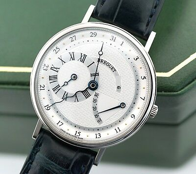 Breguet Classique Power Reserve Serpentine 3680BB/11/986 18k White Gold $29,300