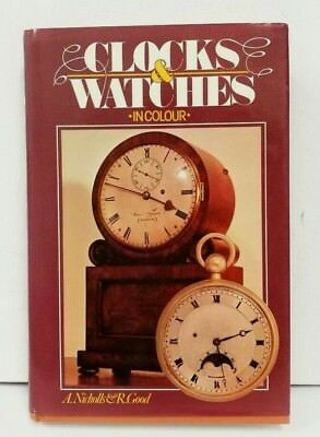 Vintage Hardback Book Clocks & Watches in colour by Andrew Nicholls B4002