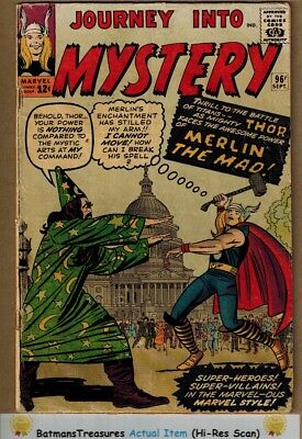 Journey Into Mystery The Mighty Thor #96 (4.0) VG 1963 Silver Age By Stan Lee