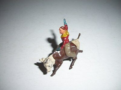 Vintage Metal Bull Rider from England Barclay?