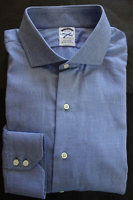 NWOT Brooks Brothers Egyptian Cotton Blue Button Down Madison Fit MSRP $185