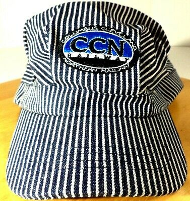 Columbus Cleveland Northern Railway 100% Cotton Youth Size Engineers Cap EC