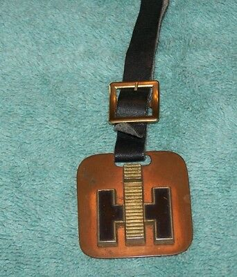 Vintage International Harvester Custom Watch Fob