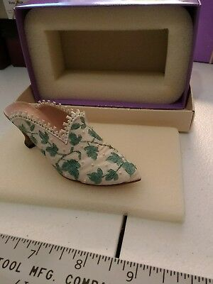 just the right shoe miniature shoe touch of lace
