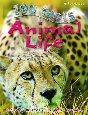 100 Facts Animal Life by Barbara Taylor (Paperback, 2014)