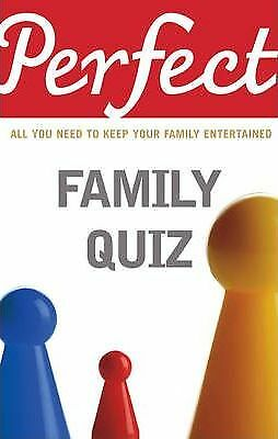Perfect Family Quiz by David Pickering (Paperback, 2009)