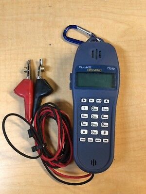 Fluke Networks TS25D Telephone Test Set With Caller Id