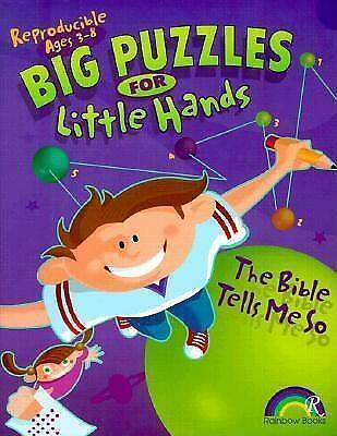 Big Puzzles for Little Hands Bible Tells ME So by Carla R Williams (Book, 2000)