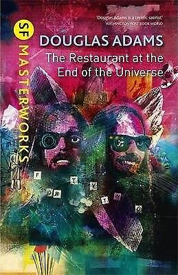 The Restaurant at the End of the Universe by Douglas Adams (Hardback, 2013)