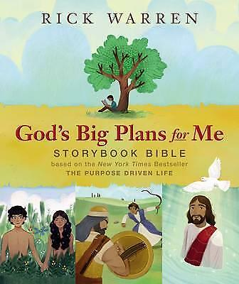 God's Big Plans for Me Storybook Bible: Based on the New York Times...