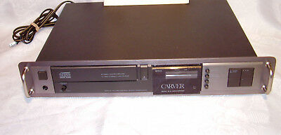 Vintage Carver Compact Disc Player TL-3200 PARTS or Repair