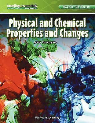 Physical and Chemical Properties and Changes by Jenny Karpelenia (Hardback,...