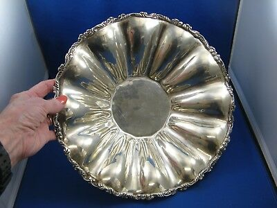 Large Made In MEXICO STERLING SILVER Footed BOWL - NOT SCRAP