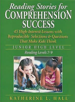 Reading Stories for Comprehension Success: Junior High Level, Reading Levels...