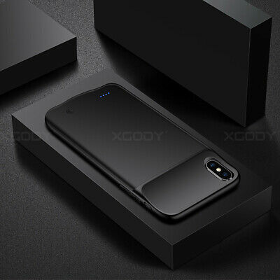 Ultra-Thin Charger Battery Case For iPhone X XR Battery Charging Power Bank Case