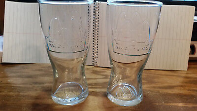 McDonalds 1992 Golden Arches Collectible Advertising Drinking Clear Coke Glass