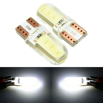10x T10 194 168 W5W COB 8SMD LED CANBUS Silica Bright License Light Bulbs White