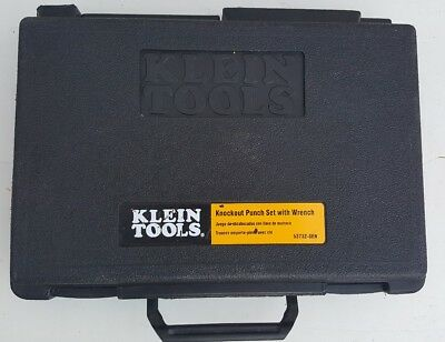 Klein Tools Knockout Punch ser with wrench 53732-SEN