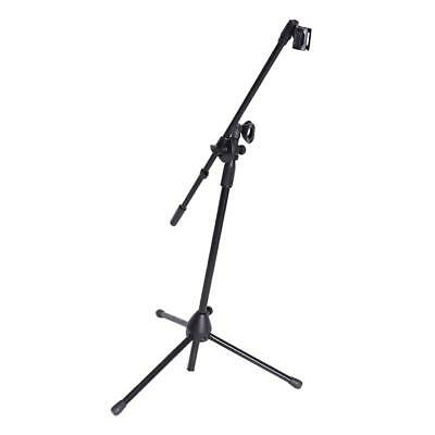 Folding Type Mic Clip Microphone Stand with Boom Arm Tripod for School Parts