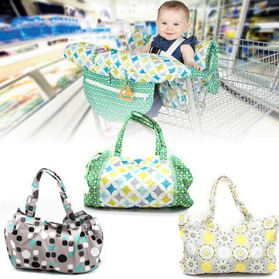 Baby Shopping Trolley Cover Seat Pad Cushion Children High Chair Mat Protector