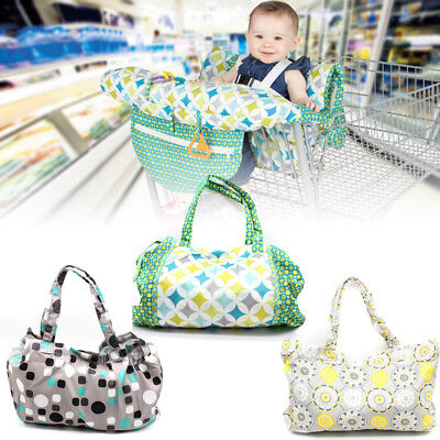 Baby Shopping Trolley/High Chair Cover Cushion Mat Children Seat Pad Protector
