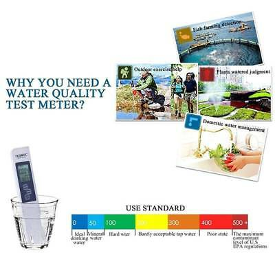 Digital Multifunctional LCD Monitor TDS EC Meter Water Quality Test Tools NEW