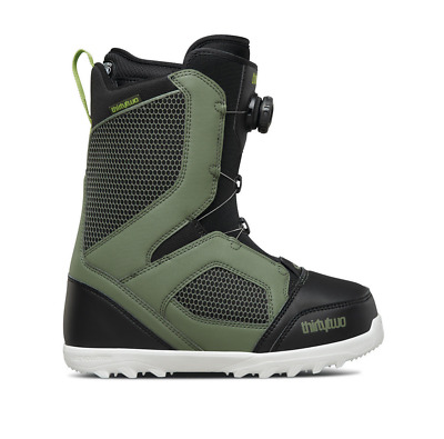 ThirtyTwo STW Boa Olive Black Mens 2018 Snowboard Boots