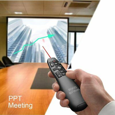 Rii R900 Wireless Remote Fly Mouse Pointer for Projector Multimedia teaching GZ