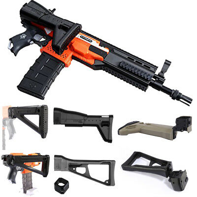 US New Worker Mod Shoulder Stock Replacement For Nerf N-strike Elite Toy Gun YY