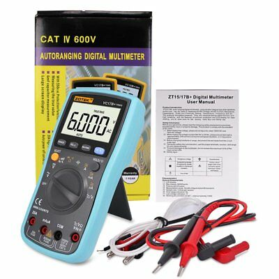 VC17B+ Automatic Manual Digital LCD Screen Display Multimeter Measurement Tool G