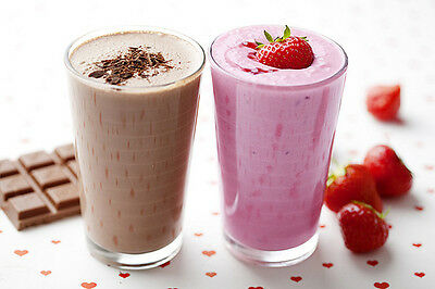Slimming Protein Shakes,Complete Meal Replacement  Strawberry,Banana,Chocolate