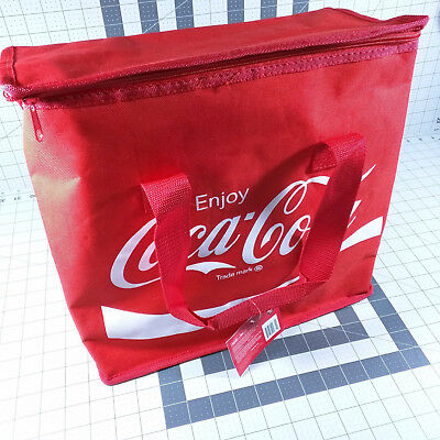 Coca Cola Bag Tote Insulated Cooler Bag Red Coke