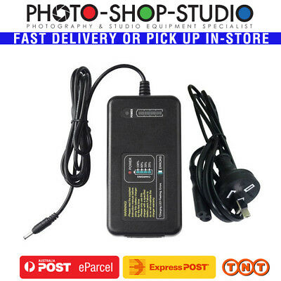 Godox C26 Witstro Battery Charger for AD600Pro with Australian Cable *Aus stock