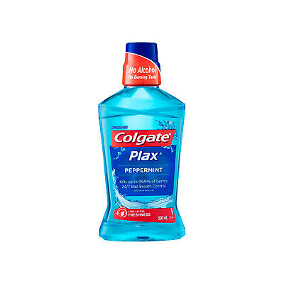 Colgate Plax Peppermint Mouthwash 500ml